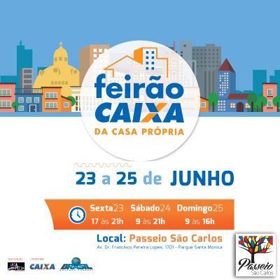 1 Feira Imobiliária - Passeio São Carlos