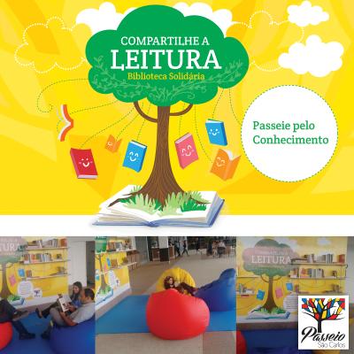 Biblioteca Solidária Passeio São Carlos