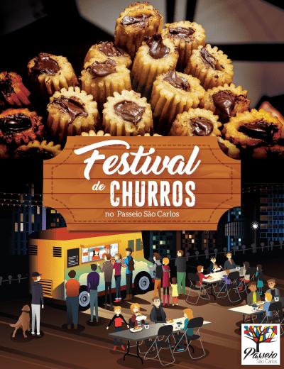 Festival de Churros - Passeio São Carlos
