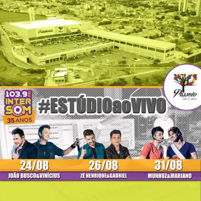 Evento Intersom FM Passeio São Carlos