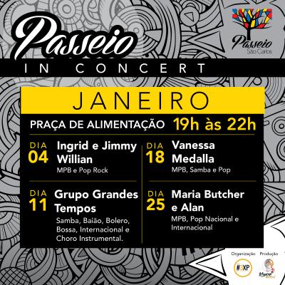 Passeio in Concert Janeiro 2018